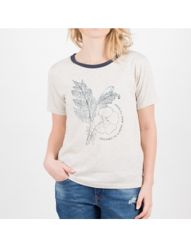 T-Shirt  Passenger  Fern And Flower