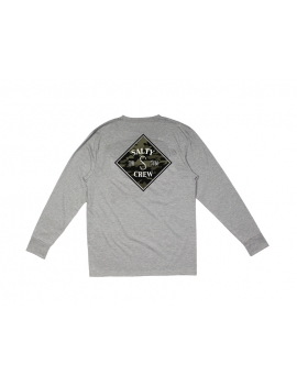 T-shirt anti-UV  Salty Crew  Tippet Camo Tech Ls