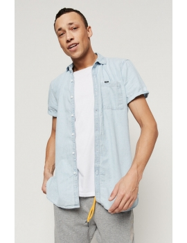 LM CHAMBRAY S/SLV SHIRT