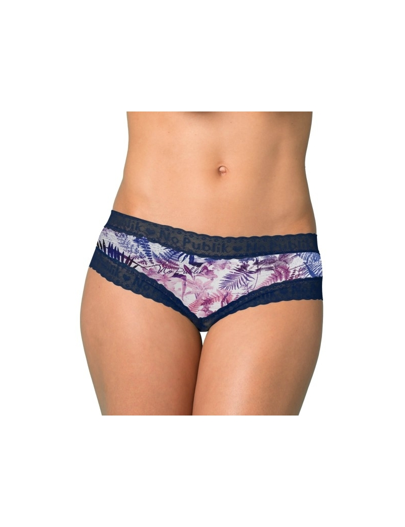 Shorty Femme Dentelle Botanical de No Publik